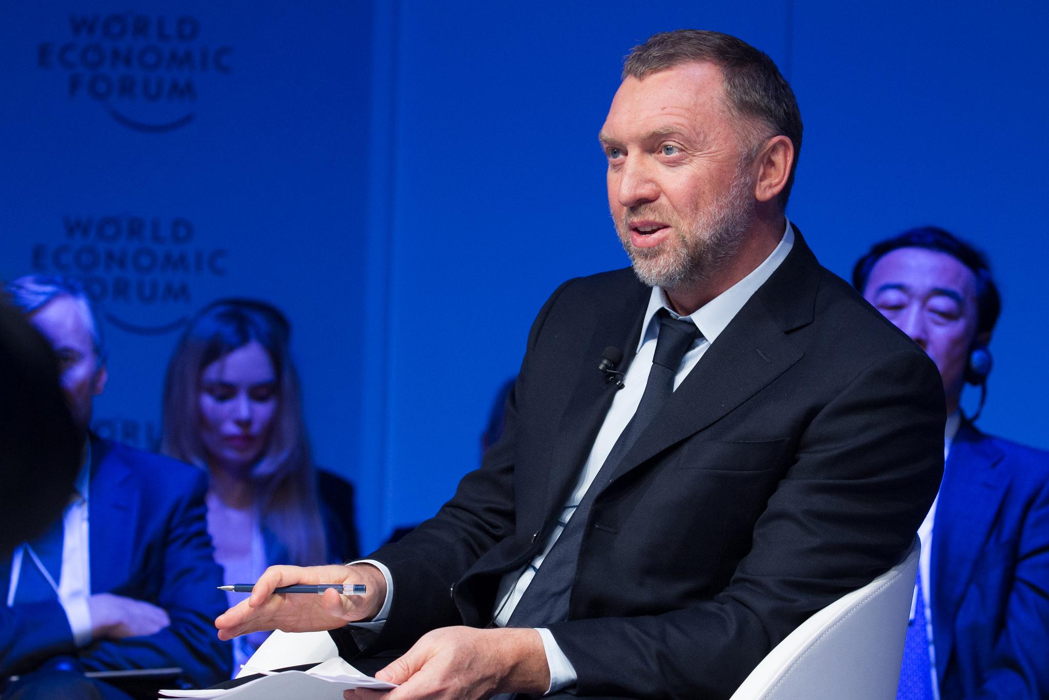 Oleg Deripaska, RUSAL President at Davos 2017
