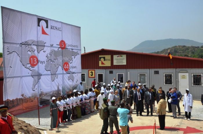 Rusal Ebola Hospital in Guinea