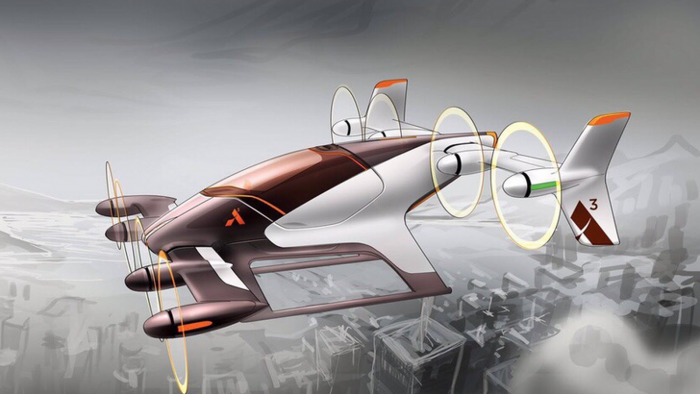 Airbus' concept airborne vehicle