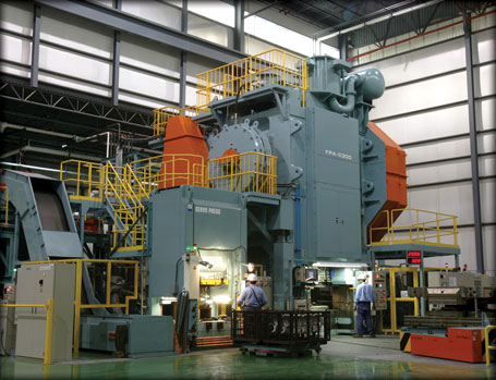 aluminium press
