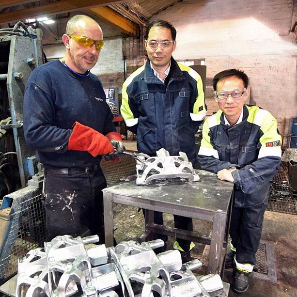 lightweight aluminium casting