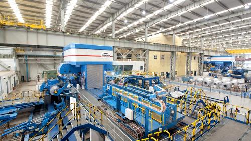 aluminium cold rolling mill