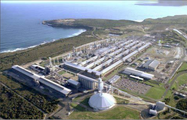 Portland aluminium smelter