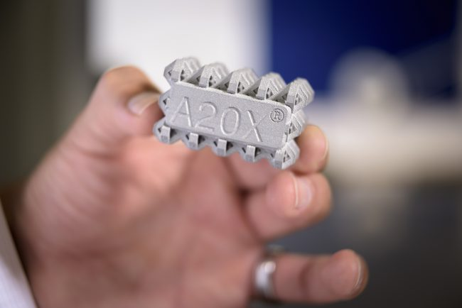 A20X aluminium alloy