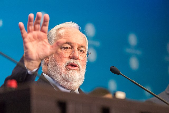 European climate commissioner Miguel Arias Canete