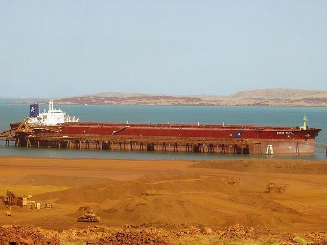Berge Stahl, a bulk carrier.