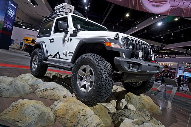 Jeep Wrangler aluminium