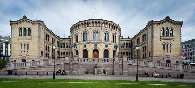 Parliament building of Norway