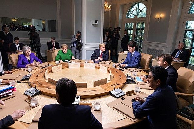 G7 trump trudeau