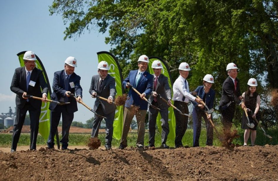 State and Federal Lawmakers In Attendance for Groundbreaking of Novelis Automotive Aluminium Plant in SW Kentucky