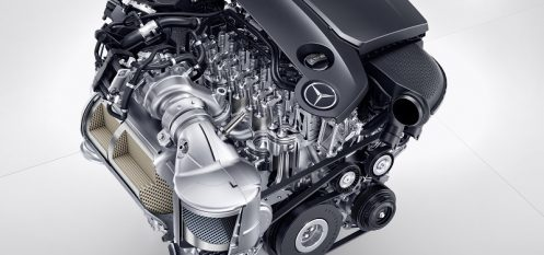 Daimler Introduces New Four-Cylinder Aluminium Engine