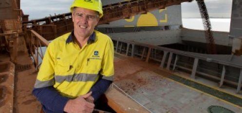 Alcoa of Australia Ships First Bauxite from Western Australia