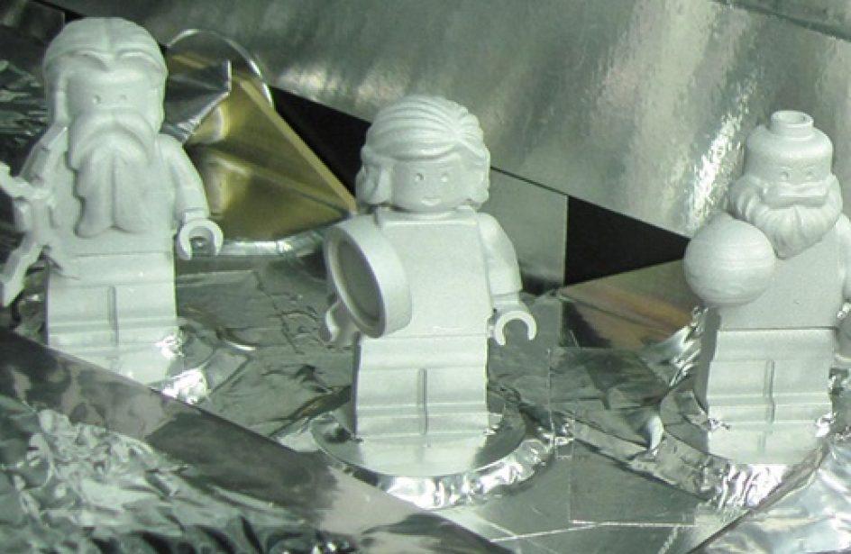 Aluminium Legos Travel 1.7 Billion Miles to Jupiter