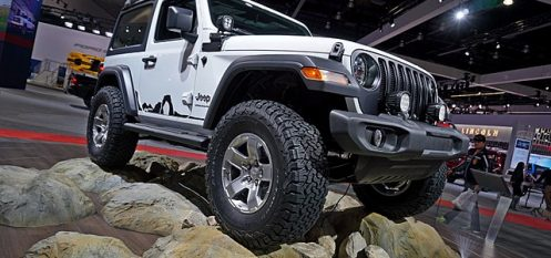 Aluminium from Novelis Trims 200 Lbs. From New 2018 Jeep Wrangler