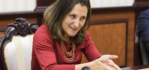 Canadian Government Will Support Dominion's Aluminium Smelters: Foreign Minister Freeland