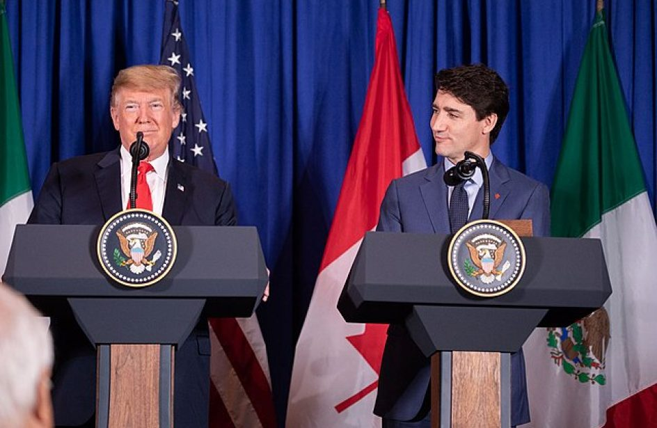 Trump And Trudeau Talk Tiptoes Through Tariff Tensions