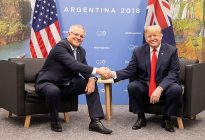 Fearing Trump Administration Tariffs, Australia PM Morrison Defends Aluminium Exports To United States