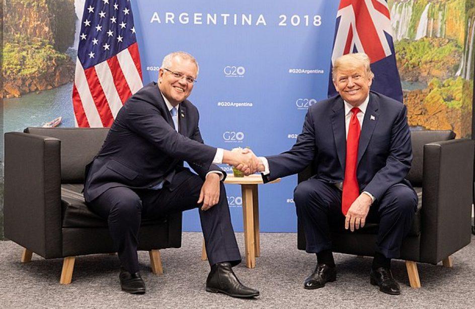 Fearing Trump Administration Tariffs, Australia PM Morrison Defends Aluminium Exports To United States
