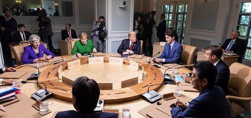 "Trudeau Promises Canada Won't Be ""Pushed Around"" On Trump Aluminium Tariffs"