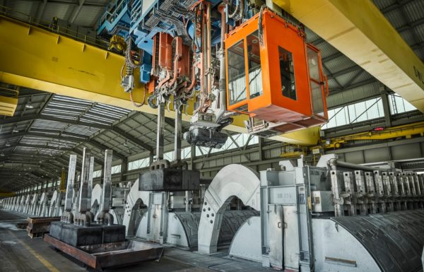 EGA Completes Refurbishment At Al-Taweelah Aluminium Smelter's Potline 3