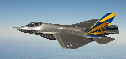 Reliance Steel Awarded Five-Year Contract with BAE for F-35 Components