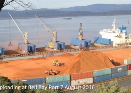 ABx Ships 33 Thousand Metric Tons Of Cement-Grade Bauxite Ore To Undisclosed Buyer