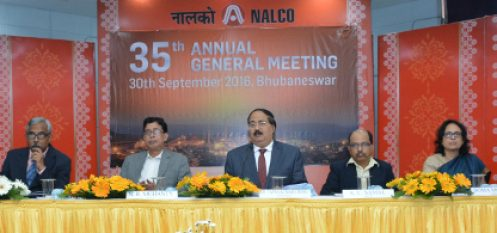 Nalco Declares Forty Percent Dividend for FY 2015-16