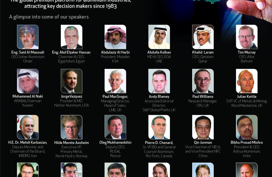 SOHAR Aluminium To Gather Speakers From Around the World In Oman