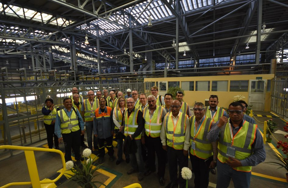 SOHAR Aluminium Showcases World-Class Facilities to 200 Experts Attending ARABAL 2017