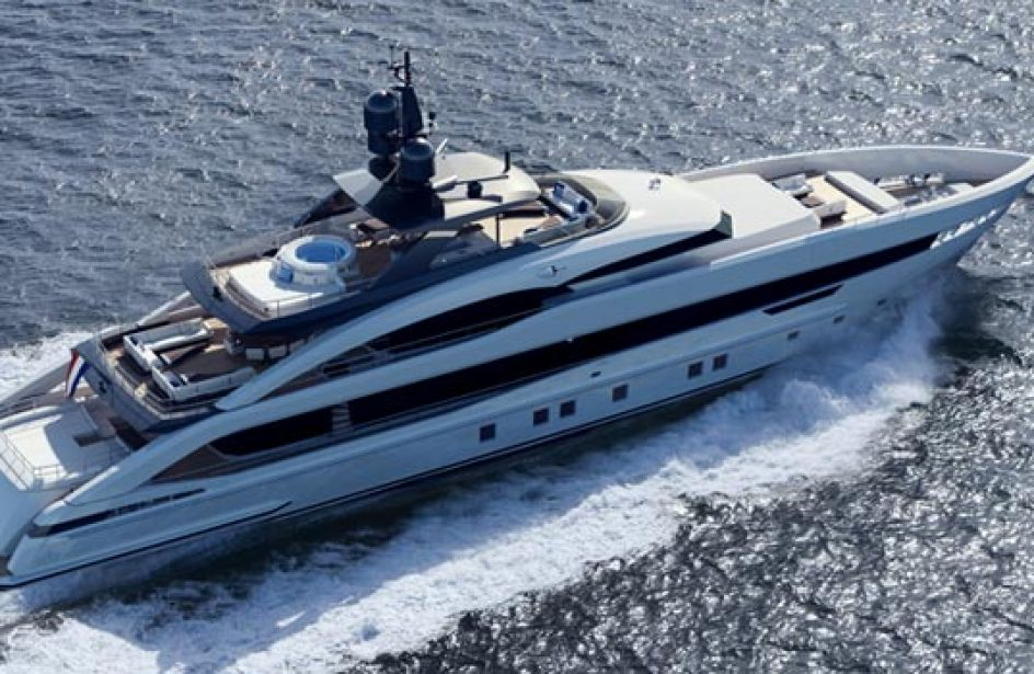 Heesen Debuts New All-Aluminium Hulled Motor Yacht