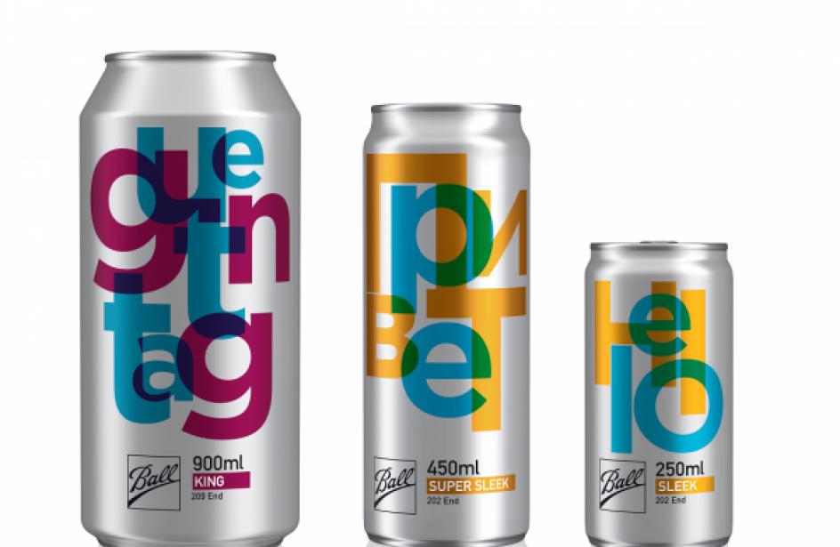 Ball Corporation Debuts Three New Aluminium Beverage Can Sizes