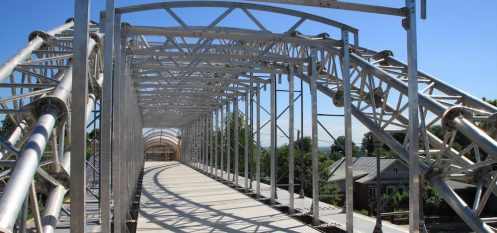 Lightweight Aluminium-Alloy Bridge Completed in Eastern Russia