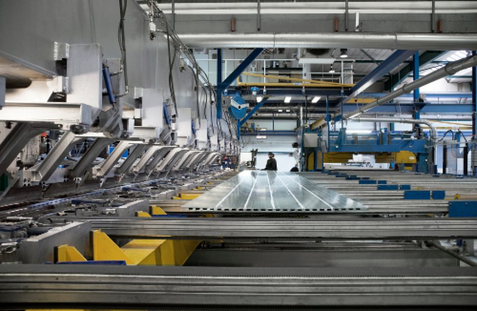 Sapa to Introduce Welding Machine Capable of Producing Extra-Large Panels for Offshore Use