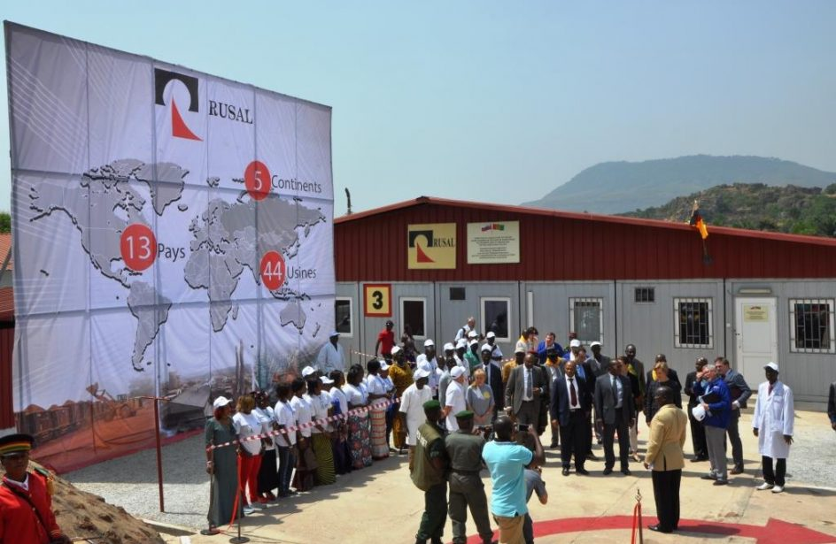 Rusal Recognized For Fight Against COVID-19 In Guinea