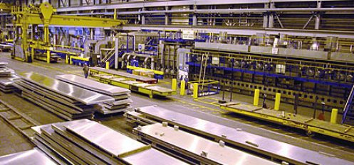 Alcoa's Davenport Plant Receives Massive New Plate Stretcher