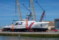 OCEA Launches Largest Ever Aluminium Offshore Patrol Vessel For Philippine Coast Guard