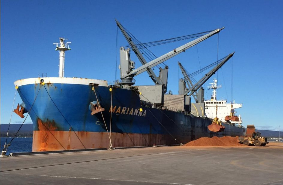 ABx Confirms Shipment of 35,000 MT of Custom Bauxite