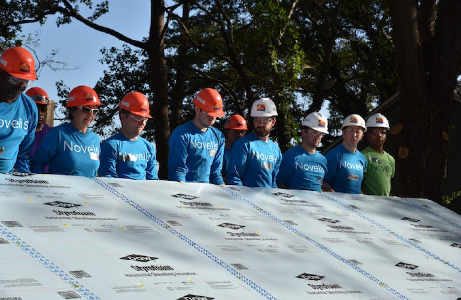Novelis Pledges US$1 MM to Habitat for Humanity