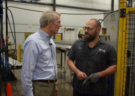 US Sen. Portman Promises Continued Help for Domestic Aluminium Industry