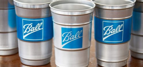Ball Corporation Introduces World's First Aluminium Beverage Cup