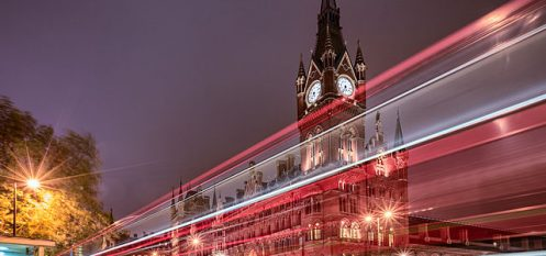 London Railway Station Showcases Aluminium Sculpture by Renowned Artist Ron Arad