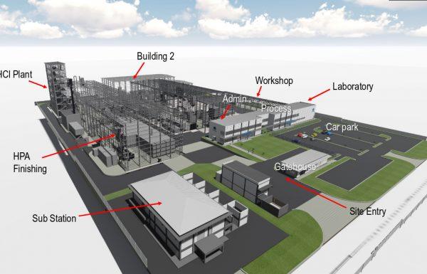 Altech Finalizes Johor HPA Plant Layout