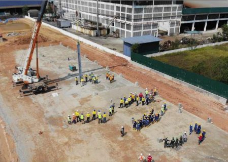 Altech Raises First Steel On High-Purity Alumina Plant Site