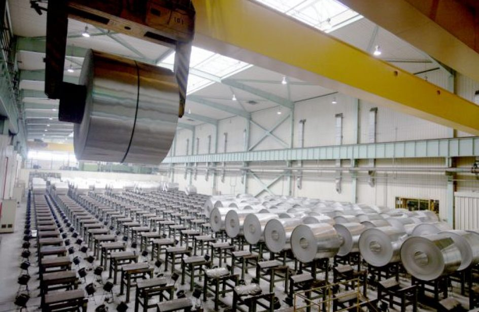 Gränges Announces US$110-Million Expansion at Tennessee Aluminium Rolling Mill