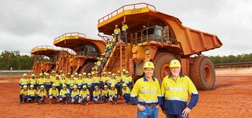 Alcoa Celebrates Mining One Billion MT in Western Australia