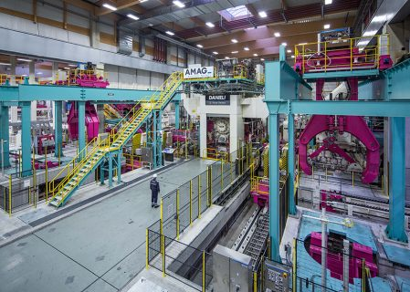 Austria's AMAG Certifies Final Acceptance of New Rolling Mill from Italy's Danieli