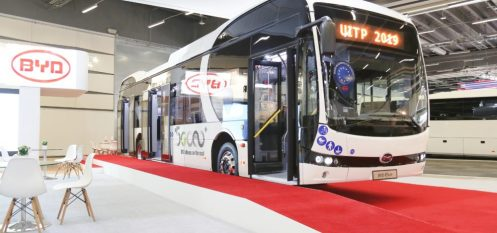 BYD Showcases Popular All-Aluminium 12-Meter eBus At Stockholm Conference