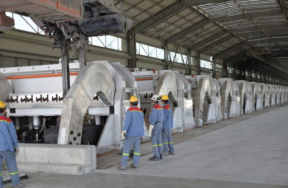 EGA Brings Online Over Two Dozen New Reduction Cells At Al-Taweelah Aluminium Smelter