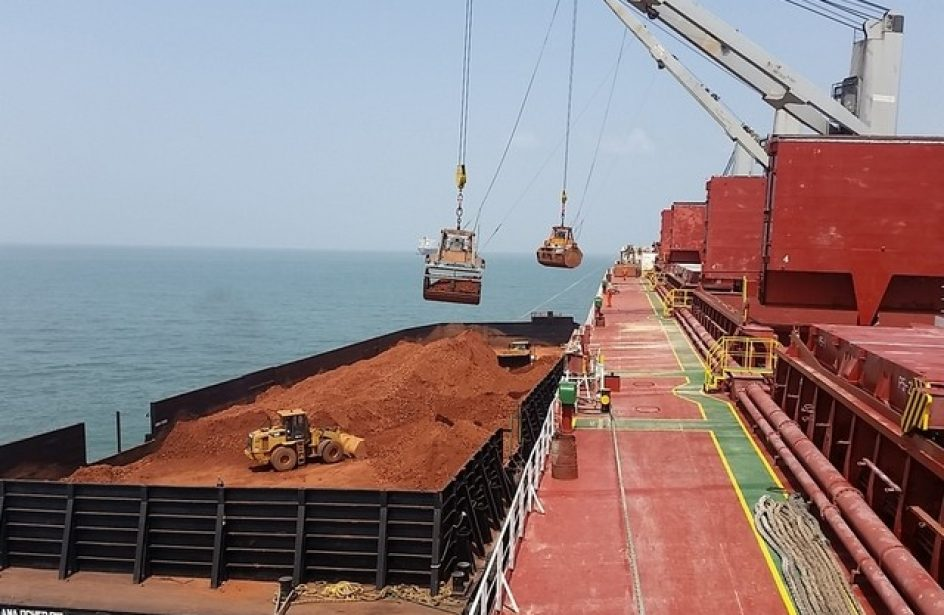 EGA Ships First Bauxite from Guinea