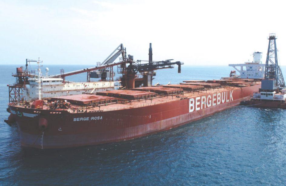First Capesize Vessel Departs Guinea Alumina Corporation Facilities In Kamsar